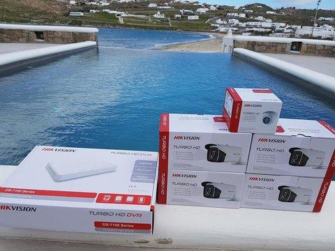 Ανάθεση Έργου Εγκατάστασης Συστήματος Παρακολούθησης στο Ξενοδοχείο «Luxury Hotel & Suites, Colours Of Mykonos»