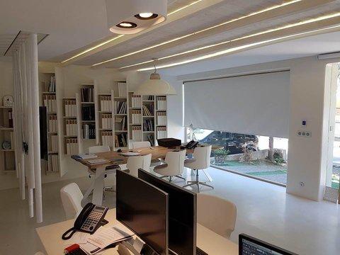 Τοποθέτηση Motorized Dome Cameras Στην Εταιρεία «City Interior Design»