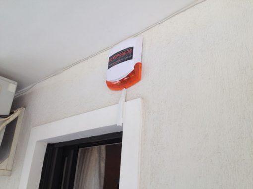 Εγκατάσταση Συστήματος Συναγερμού σε Οικία στο Γαλάτσι