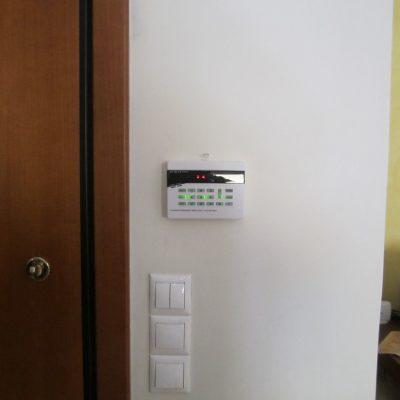 Εγκατάσταση Συστήματος Συναγερμού σε οικία στον Περισσό