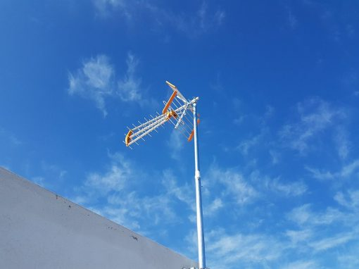Τοποθέτηση Κεντρικής Κεραίας σε Μεζονέτα