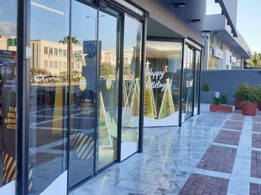 Cosmos Sport  Factory Outlet Κατάστημα Πειραιώς Σύστημα Ελεγχόμενης Πρόσβασης Εισόδου