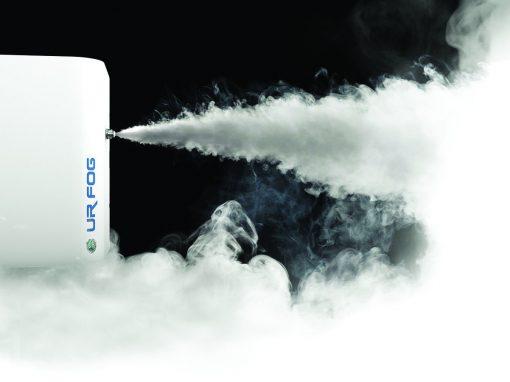 Προβολή Λειτουργίας Μηχανήματος  Παραγωγής Ομίχλης στην Εταιρεία  Fotopoulos Security Systems